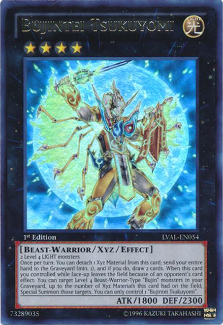 YuGiOh Zexal Legacy of the Valiant Ultra Rare Bujintei Tsukuyomi LVAL-EN054