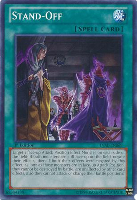YuGiOh Zexal Legacy of the Valiant Common Stand-off LVAL-EN069