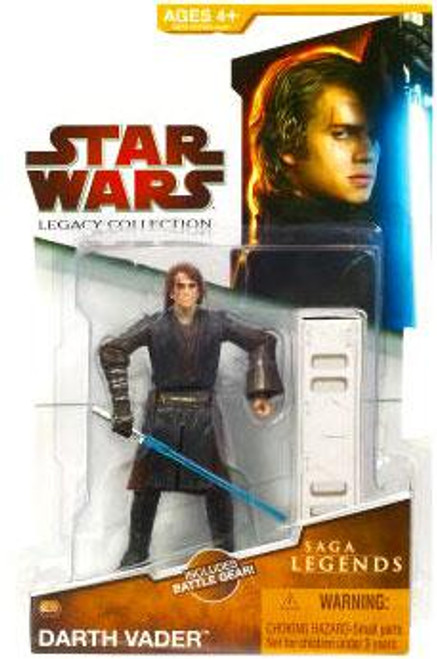 Star Wars Revenge of the Sith Legacy Collection 2009 Saga Legends Anakin Skywalker as Darth Vader Action Figure SL02