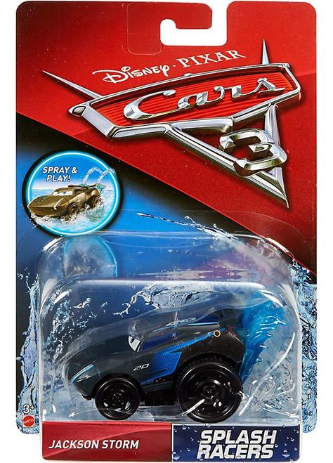disney cars cars 3 splash racers jackson storm plastic car mattel toywiz. Black Bedroom Furniture Sets. Home Design Ideas