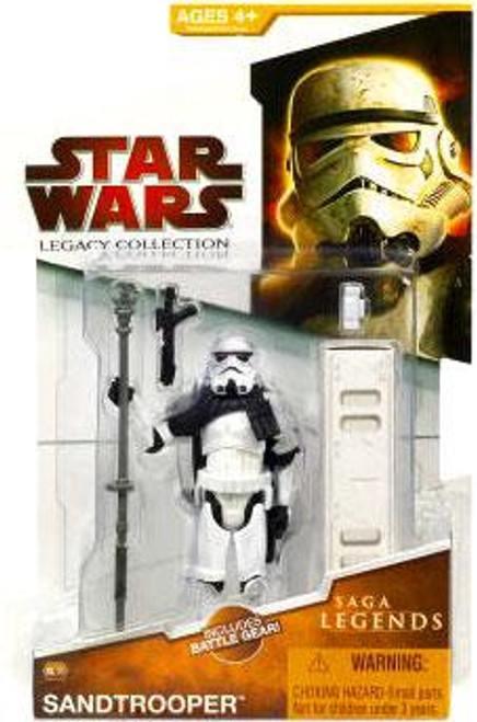 Star Wars A New Hope Legacy Collection 2009 Saga Legends Sandtrooper Action Figure SL10