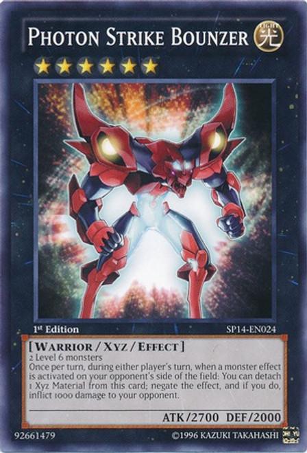 YuGiOh Zexal Star Pack 2014 Common Photon Strike Bounzer SP14-EN024