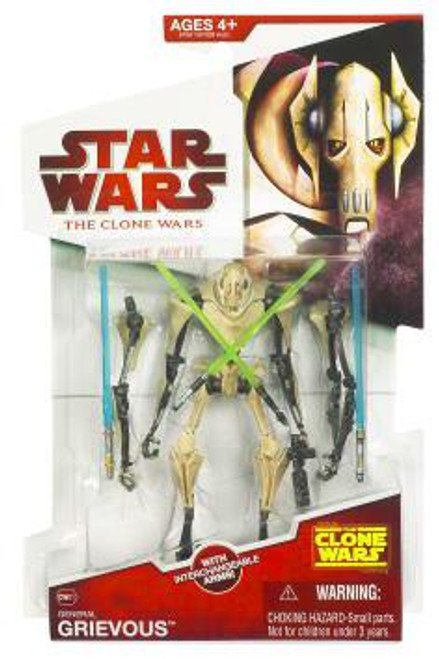 Star Wars The Clone Wars Clone Wars 2009 General Grievous Action Figure CW01