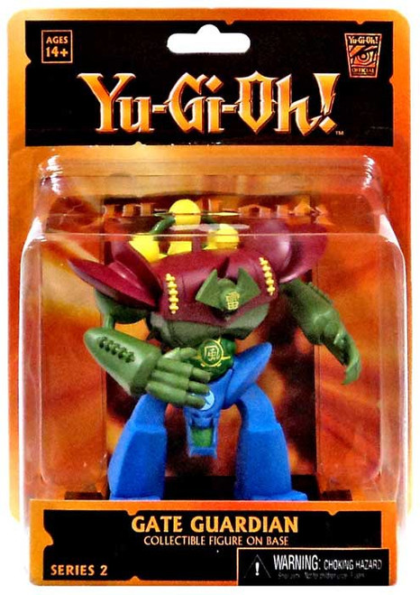 NECA YuGiOh Diorama Gate Guardian 3.5-Inch Mini Figure