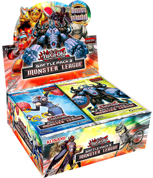 YuGiOh Battle Pack 3 Monster League Booster Box