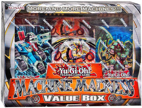 YuGiOh Machine Madness Value Box Structure Decks [Sealed Deck]