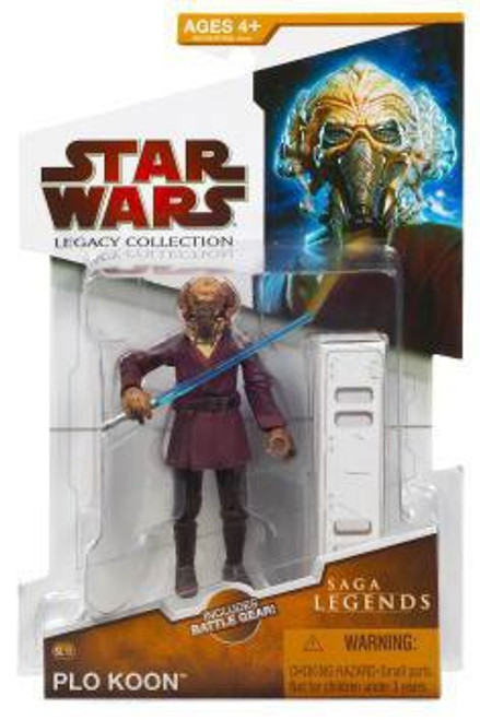 Star Wars Revenge of the Sith Legacy Collection 2009 Saga Legends Plo Koon Action Figure SL13