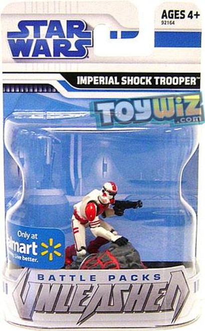 Star Wars The Clone Wars Unleashed Battle Packs 2009 Imperial Shock Trooper Exclusive Action Figure