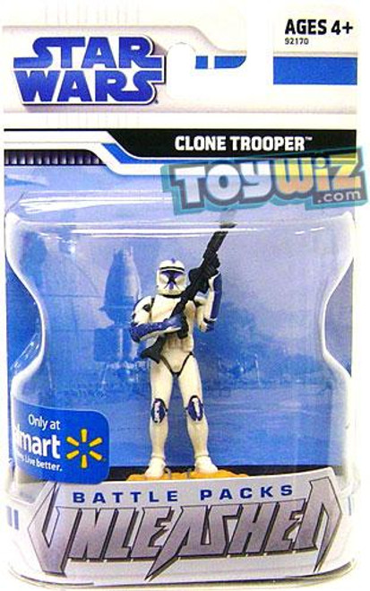 Star Wars The Clone Wars Unleashed Battle Packs 2009 Clone Trooper Exclusive Action Figure