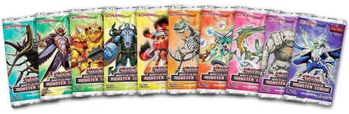 YuGiOh Lot of 10 Battle Pack 3 Monster League Booster Packs