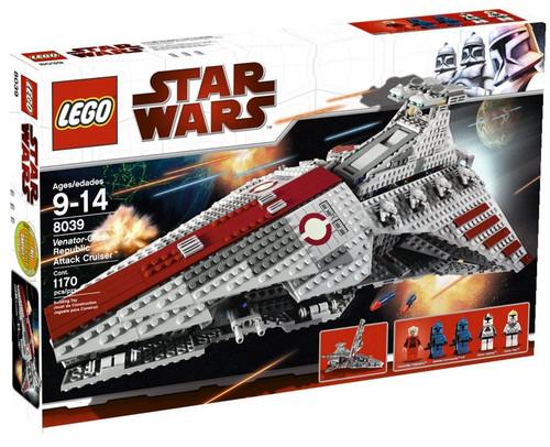 LEGO Star Wars The Clone Wars Venator Class Republic Attack Cruiser Set #8039