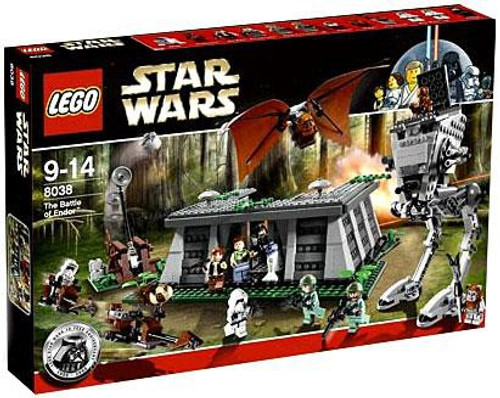LEGO Star Wars Return of the Jedi Battle of Endor Exclusive Set #8038