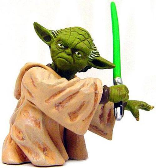 Star Wars Bust-Ups Series 1 Yoda Micro Bust
