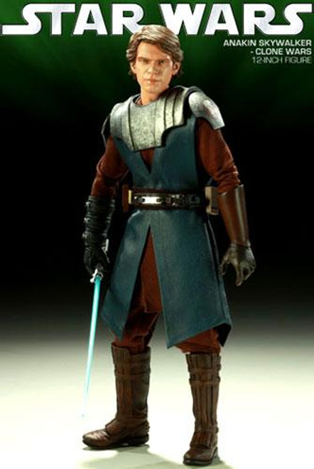 Star Wars The Clone Wars Order of the Jedi Sixth Scale General Anakin Skywalker 12 Inch Action Figure
