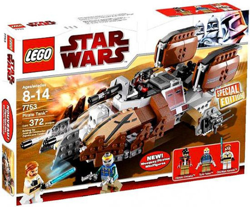 LEGO Star Wars The Clone Wars Pirate Tank Exclusive Set #7753