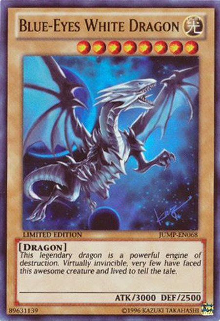 YuGiOh Shonen Jump Ultra Rare Blue-Eyes White Dragon JUMP-EN068