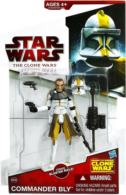 Star Wars The Clone Wars Clone Wars 2009 Commander Bly Action Figure CW39