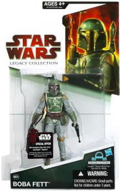 Star Wars The Empire Strikes Back Legacy Collection 2009 Droid Factory Boba Fett Action Figure BD36