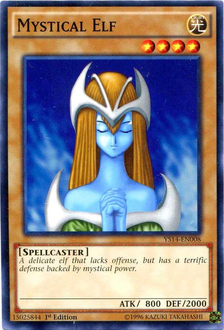 YuGiOh Space-Time Showdown Common Mystical Elf YS14-EN008