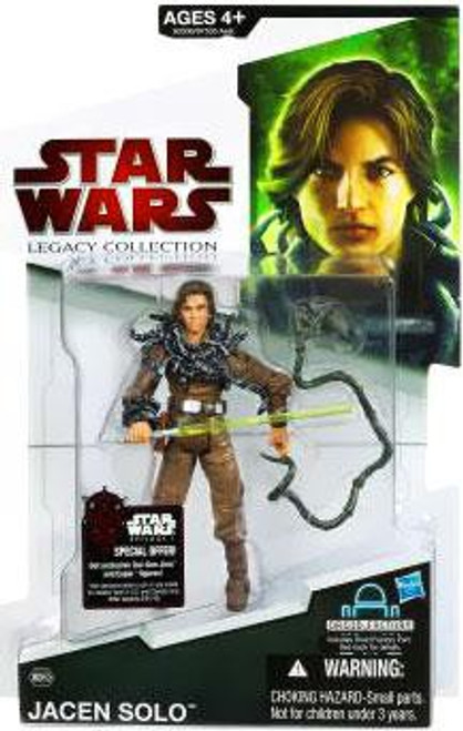 Star Wars Expanded Universe Legacy Collection 2009 Droid Factory Jacen Solo Action Figure BD59