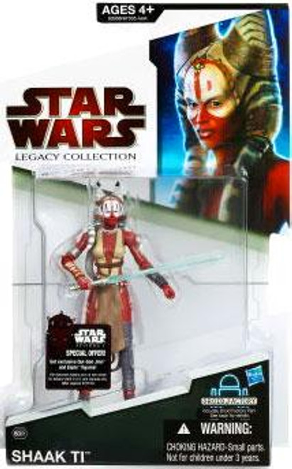 Star Wars Force Unleashed Legacy Collection 2009 Droid Factory Shaak Ti Action Figure BD61