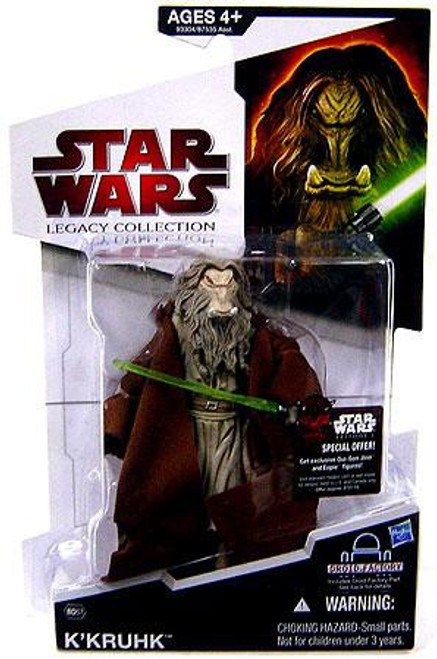 Star Wars The Clone Wars Legacy Collection 2009 Droid Factory K'Kruhk Action Figure BD57