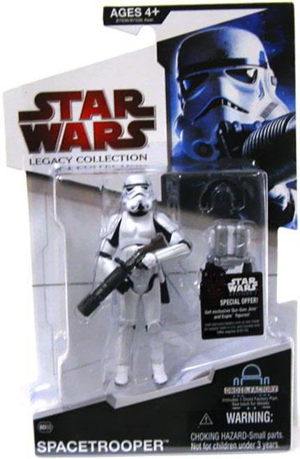 Star Wars Expanded Universe Legacy Collection 2009 Droid Factory Spacetrooper Action Figure BD03 [Classic Helmet]