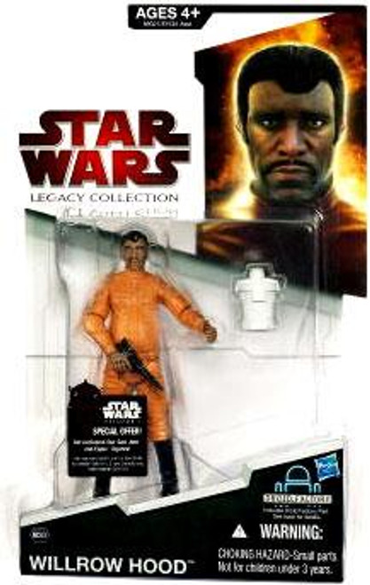 Star Wars The Empire Strikes Back Legacy Collection 2009 Droid Factory Willrow Hood Action Figure BD53