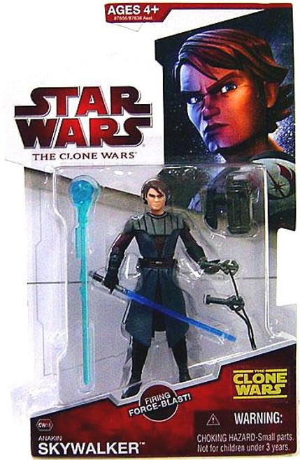 Star Wars The Clone Wars Clone Wars 2009 Anakin Skywalker Action Figure CW18 [Firing Force-Blast]