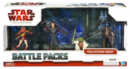 Star Wars The Clone Wars Battle Packs 2009 Holocron Heist Action Figure Set