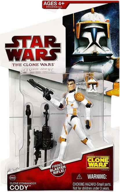 Star Wars The Clone Wars Clone Wars 2009 Clone Commander Cody Action Figure CW28