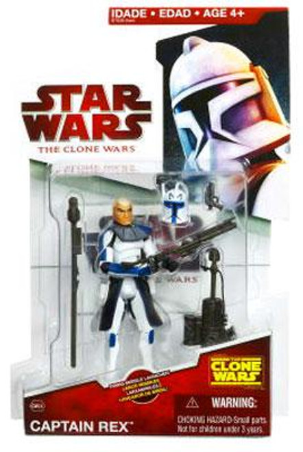 Star Wars The Clone Wars Clone Wars 2009 Captain Rex Action Figure CW24