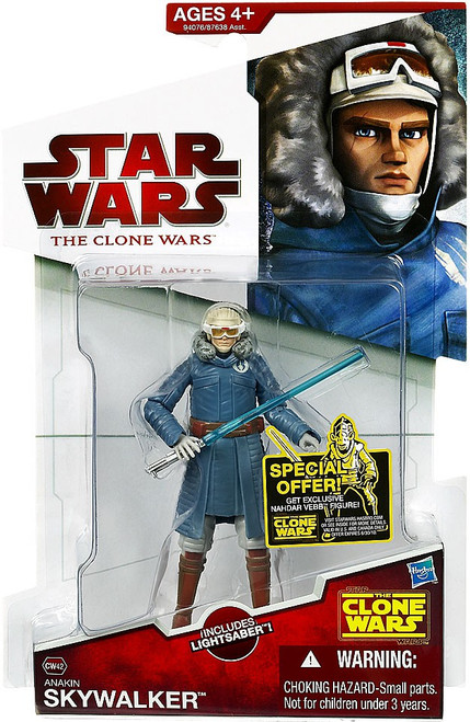 Star Wars The Clone Wars Clone Wars 2009 Anakin Skywalker Action Figure CW42 [Cold Weather Gear]