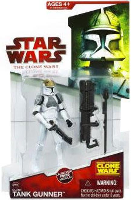 Star Wars The Clone Wars Clone Wars 2009 Clone Tank Gunner Action Figure CW36