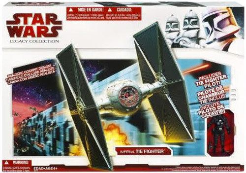 Star Wars A New Hope Legacy Collection 2009 Vehicles Imperial TIE Fighter Exclusive Action Figure Accessory