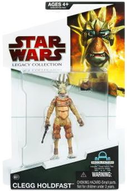 Star Wars The Phantom Menace Legacy Collection 2009 Droid Factory Clegg Holdfast Action Figure BD11 [Pod Racer]