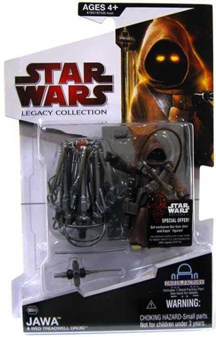 Star Wars A New Hope Legacy Collection 2009 Droid Factory Jawa & Wed Treadwell Droid Action Figure 2-Pack BD04