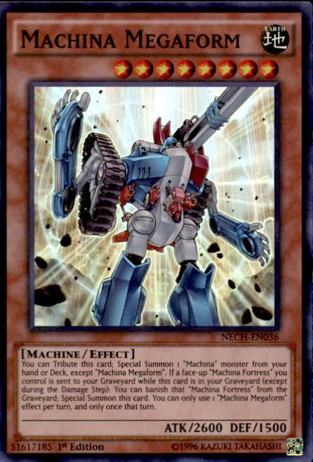 yugioh the new challengers single card super rare machina