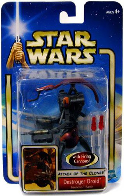 Star Wars Attack of the Clones Saga 2002 Destroyer Droid Action Figure #48 [Geonosis Battle]