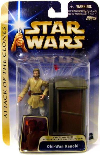 Star Wars Attack of the Clones Basic 2004 Obi-Wan Kenobi Action Figure #39 [Outlander Nightclub Encounter]
