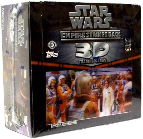 Star Wars Empire Strikes Back 3D Widevision Trading Card Box