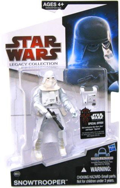 Star Wars The Empire Strikes Back Legacy Collection 2009 Droid Factory Snowtrooper Action Figure BD55