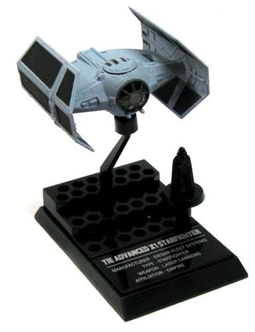 Star Wars The Empire Strikes Back Japanese Models Vader's TIE Advanced Micro Vehicle Model