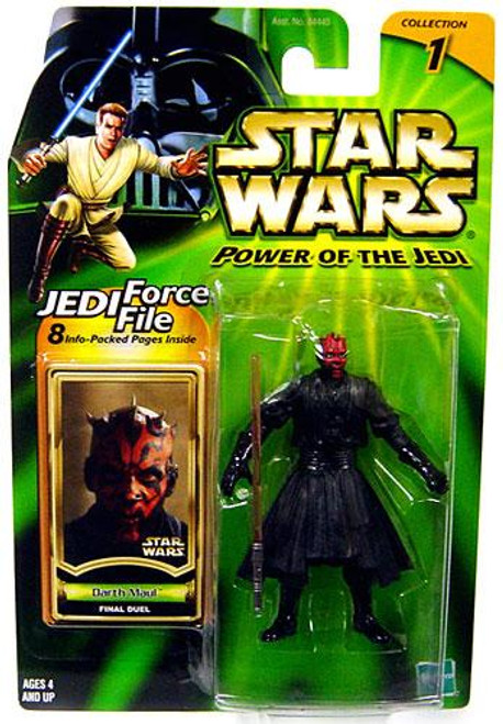 Star Wars The Phantom Menace Power of the Jedi 2002 Collection 1 Darth Maul Action Figure [Final Duel]