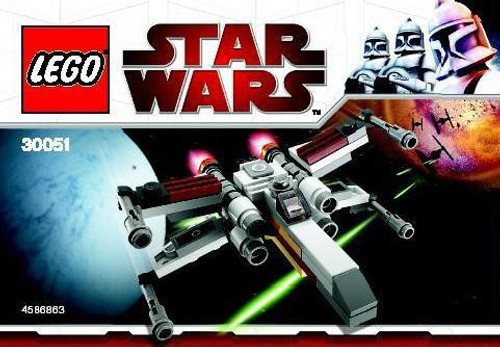 LEGO Star Wars The Clone Wars X-Wing Starfighter Exclusive Mini Set #30051 [Bagged]