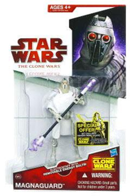 Star Wars The Clone Wars Clone Wars 2009 Magnaguard Action Figure CW49
