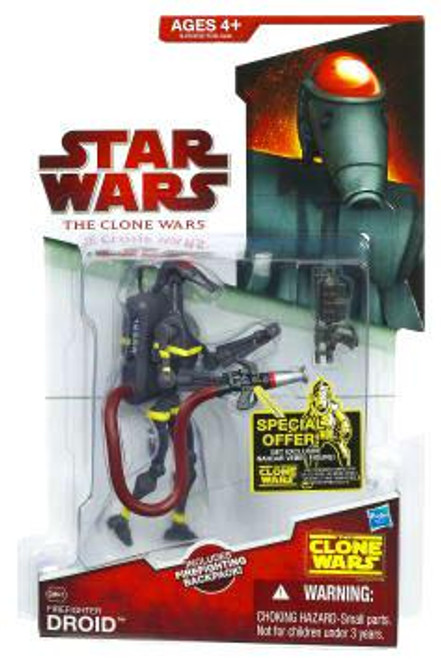 Star Wars The Clone Wars Clone Wars 2009 Firefighter Droid Action Figure CW47