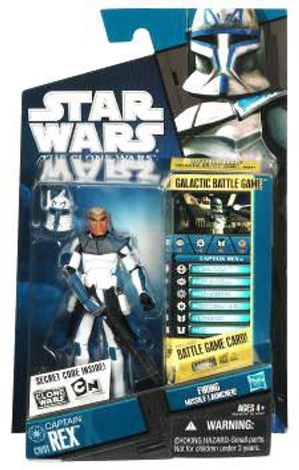 Star Wars The Clone Wars Clone Wars 2010 Captain Rex Action Figure CW01