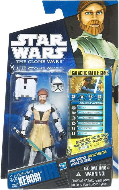 Star Wars The Clone Wars Clone Wars 2010 Obi-Wan Kenobi Action Figure CW02
