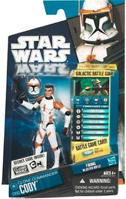 Star Wars The Clone Wars Clone Wars 2010 Commander Cody Action Figure CW03